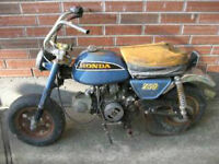 Honda Z50 Project to Restore