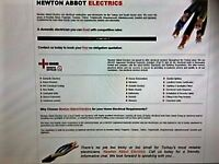 Electrician In Teignmouth,Newton Abbot,Dawlish,Abbotskerswell,Ipplepen,Bishopsteignton