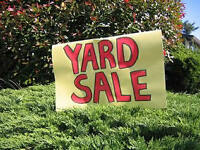 YARD SALE!! MISSION AREA, KLO RD