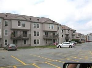 2 br Condo on COLLINS DRIVE, 2 levels, brand new wood floors!