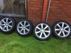 "Subaru Impreza 17"" OEM Alloy wheels Gladesville Ryde Area Preview"