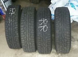 Used winter tires, rims and hubcaps for sale