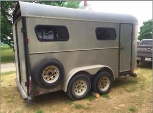 1989 Jamco Stock Trailer For Sale