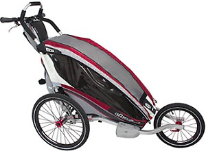 Thule Chariot CX1 Stroller - You need this for Winter!
