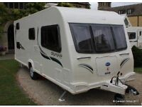 Baileys Olympus 540/5 2012 extras Awning, electric cable, water/waste containers,wheel/ hitch locks