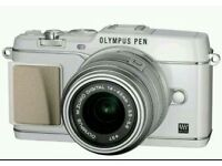 Olympus pen pl6 with 42 mm lens