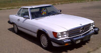 1989 Mercedes Roadster Convertible