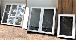 Différents lots de fenêtres à vendre