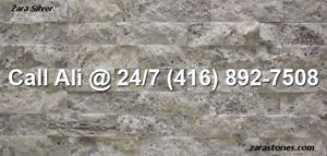 Silver Fireplace Veneers Stone Veneers Wall Cladding Ledgestone