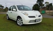 2009 Nissan Micra K12 White 4 Speed Automatic Hatchback Hyde Park Unley Area Preview