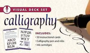 Calligraphy [With 50 Instructional Cards Calligraphy Pen  by Thunder Bay Press E