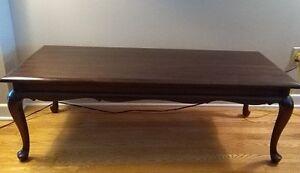 Gibbard mahogany coffee table