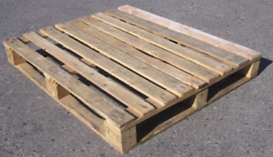 Wood pallets needed