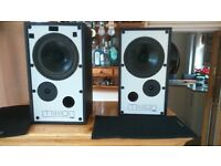 Mission Speakers give excellent sound .For sale due to downsizing of equipment