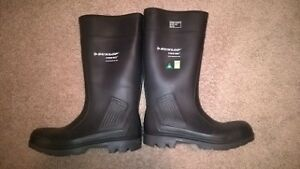 DUNLOP SAFETY RUBBER BOOTS
