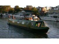 52ft10in semi-traditional narrowboat 1988 - New Vetus engine 2016