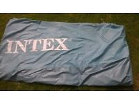INTEX Round Plastic Pool Cover / Insulation Sheet for Inflatable Pool Type - Drawstring Fixing