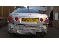 For sale Lexus is200SE, for spares or repair.