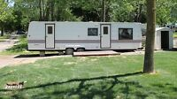 32' Manhattan Trailer For Sale at Landings Campground