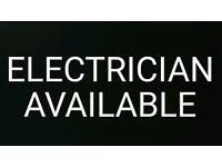 Local electrician available