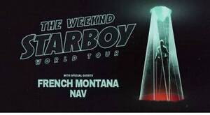 THE WEEKND MELBOURNE SHOW A RESERVE SEATING Cranbourne North Casey Area Preview