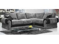 luxury Scs Ashley sofa with FREE FOOTSTOOL