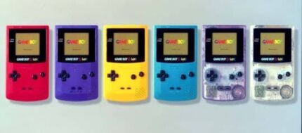 WANT TO BUY GAME BOY COLOUR CONSOLES  Ashfield Ashfield Area Preview