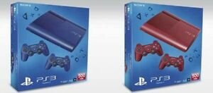 ISO Boxes for Super Slim PS3 - Red, Blue or White