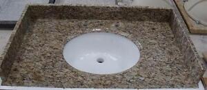 "25"" Bathroom Countertops - Starting at 120.84 ( Granite, Porcelain & Cultured Marble )"