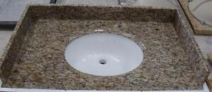 "61"" Bathroom Countertops - Starting at 865.12 ( Quartz, Glass or Marble )"