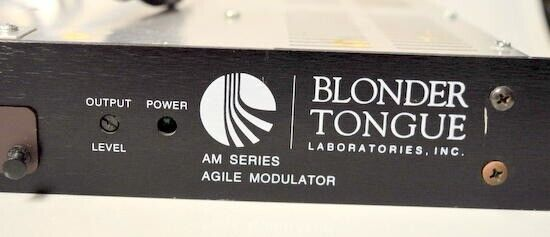 Blonder Tongue Agile Modulator, Rack Mount AM Series 40-550A #59408