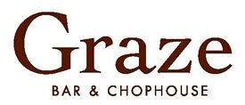 Kitchen Assistants needed at Graze, Bath - Up to £9.50 per hour dependent on experience + benefits