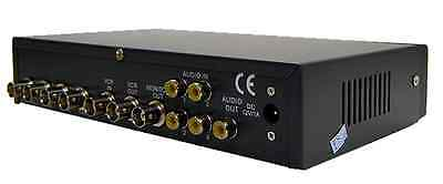 4 In 1 Out Analog Video Switcher With Split Screen Support
