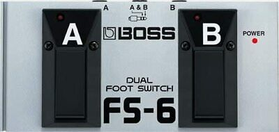 Roland FS-6 Boss Pedal DUAL Foot Switch Fender Picks DUAL FOOTSWITCH