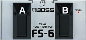 Dual Foot Switch BOSS FS-6