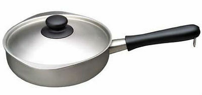 Sori Yanagi Matte-Finished Stainlessl&Aluminum 3 Layer Saucepan with a Handle