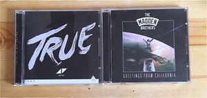 Two CD Albums - One by Avicii and one by The Madden Brothers