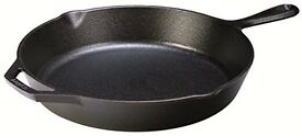 Lodge 30.48 cm/12 inch Pre-Seasoned Cast Iron Round Skillet/Frying Pan.. new