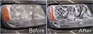 Headlights cleaning
