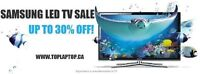 TELEVISION NEUVES DANS LEURS BOITES/NEW TV's *up to 30% offf