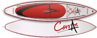 Corran Bali inflatable kayak in red and white instock