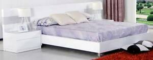 STOCK CLEARANCE SALE!!!!! Omine King Bed Frame With LED Lights