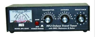 MFJ-904H HF (3.5 - 30MHz) Travel Manual Tuner w/ Built-In Balun & SWR Meter. Buy it now for 178.15