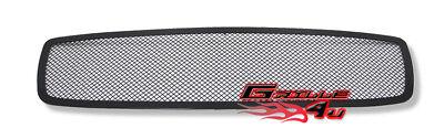 (For 2005-2010 Dodge Charger Black Stainless Mesh Premium Grille Insert)