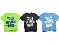 £10 Custom T-Shirts