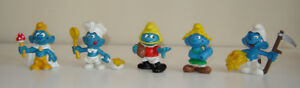 Vintage Character Smurfs Made in West Germany-1970/80's-Schleich