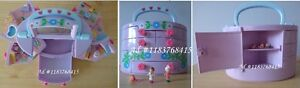 Polly Pocket Pullout Playhouse Figures 1991 Bluebird, Vintage