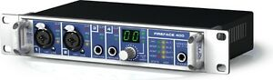 RME fireface 400. sound card, carte de son, preamp,recording