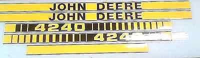 John Deere 4240 Hood Decals