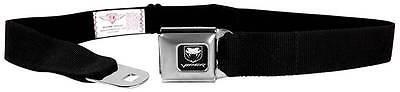 Seatbelt Men Canvas Web Military Webbing Dodge Viper SRT Black Logo Quality